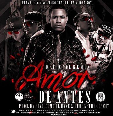 Amor De Antes Remix