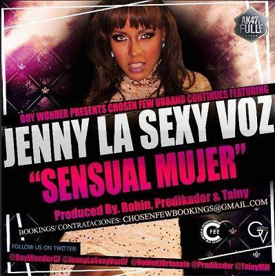 Jenny ''La Sexy Voz'' - Sensual Mujer