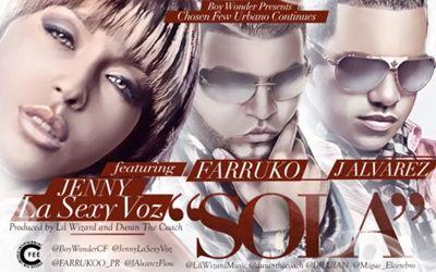 Jenny La Sexy Voz Ft. Farruko y J Alvarez