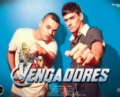 Los Vengadores - Difusion Lanzamiento 2013 (x4)