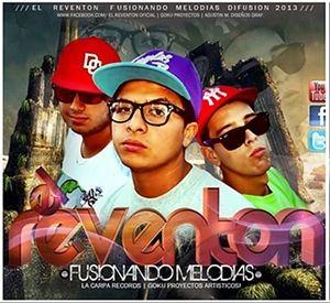 CD El Reventon Fusionando Melodias