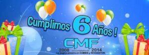 Hoy 14 de Agosto CMF Cumple 6 Años!
