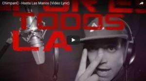 ChimpanC - Hasta Las Manos (Video Lyric Oficial + MP3) | Cumbia