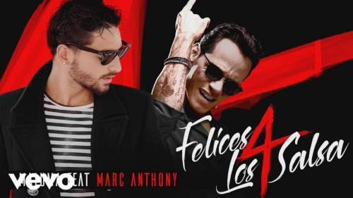 Maluma Ft. Marc Anthony – Felices Los 4 (Version Salsa)