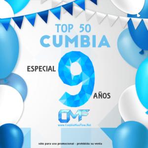 Top 50 Cumbia – Especial 9 años de CMF (CD 2017)