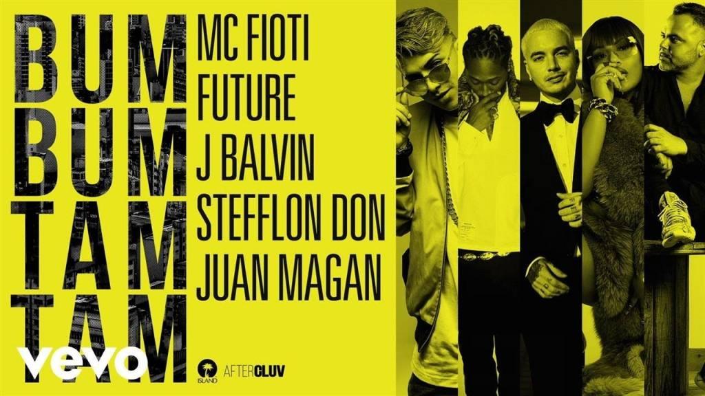 MC Fioti ft Future, J Balvin, Stefflon Don, Juan Magan – Bum Bum Tam Tam