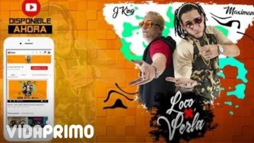 J King & Maximan - Loco por Verla (Video Lyric) | Reggaeton