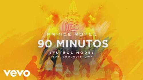 Prince Royce ft ChocQuibTown – 90 Minutos (Futbol Mode)