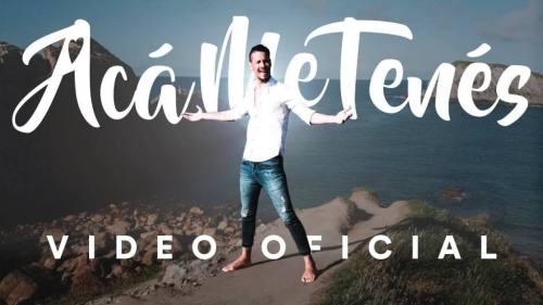 Rodrigo Tapari - Acá Me Tenés (Video Oficial) | Cumbia