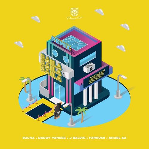 Ozuna ft Daddy Yankee, J Balvin, Farruko y Anuel AA - Baila Baila Baila (Remix) | Audios