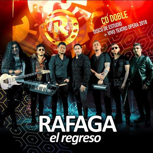 rafaga nuevo cd album disco 2019